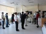 Kaymakam Oruç sağlık çalışanlarını unutmadı